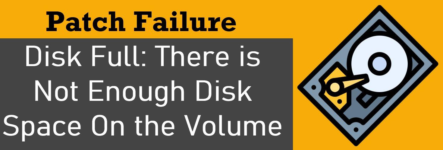 disk full