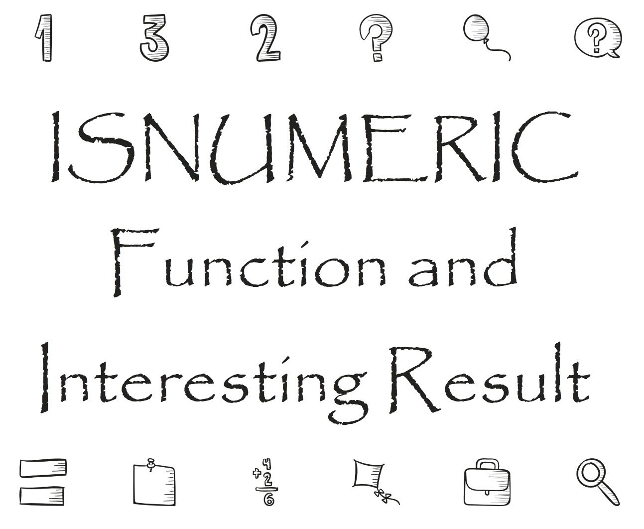 isnumeric function