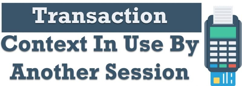SQL SERVER - Linked Server Error - Msg 3910 - Transaction Context In Use By Another Session Transaction-context-800x284
