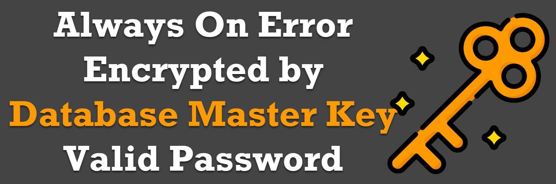 database master key