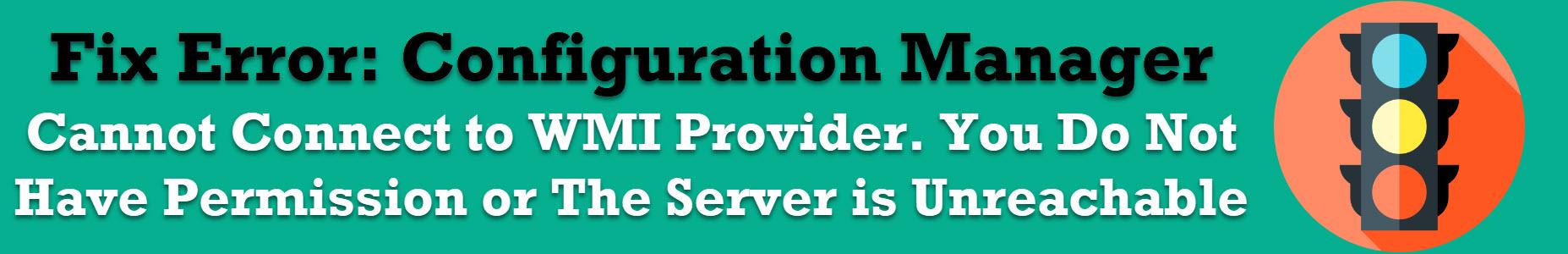 WMI Provider