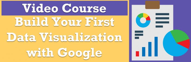 Build Your First Data Visualization with Google Charts - Pluralsight Course googlecharts-800x262