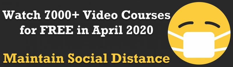 Pluralsight - 7000+ Free Courses - April 2020 - No Credit Card Required covid19-800x231