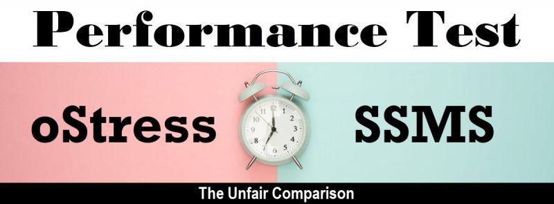 SQL SERVER - Performance Test - oStress vs SSMS ostressssms-800x295