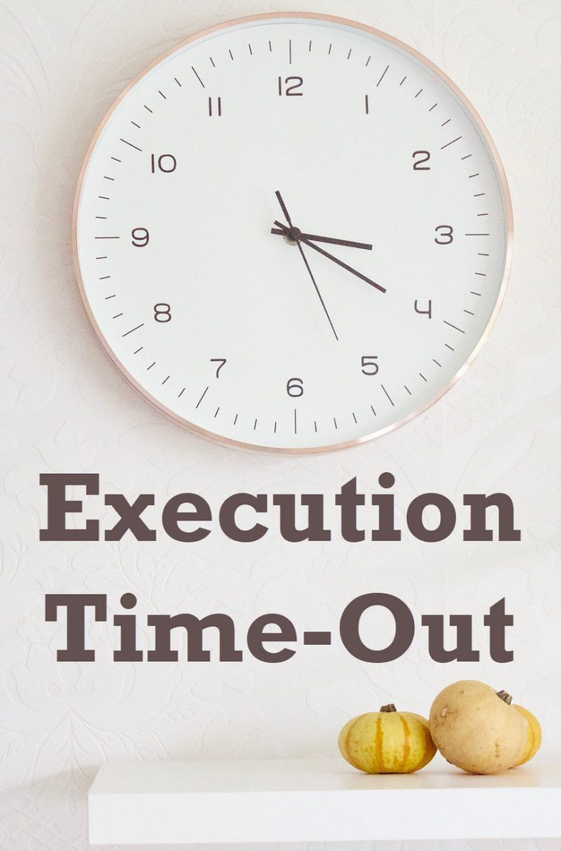SSMS - Bug - Execution Time-Out timeout-800x1213