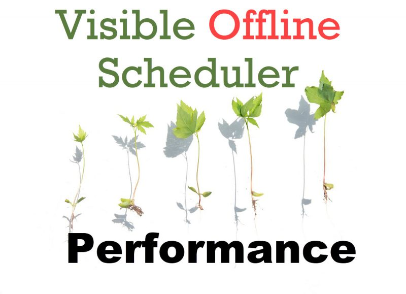 SQL SERVER - Visible Offline Scheduler and Performance VisibleOffline-800x579