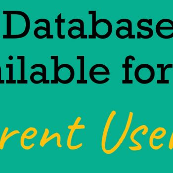 available database