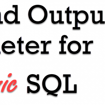 Output Parameter
