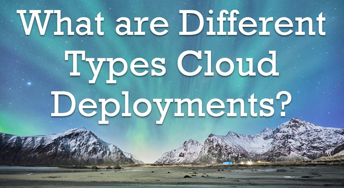 cloud deployments