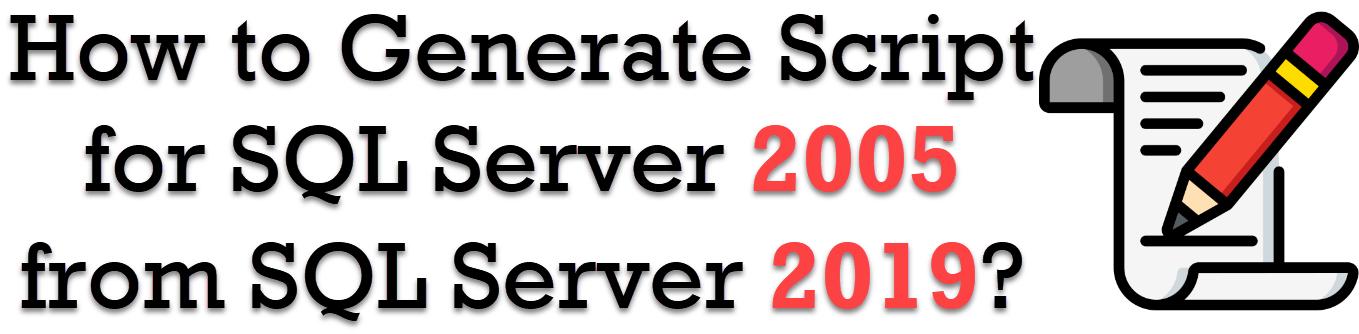 generate script