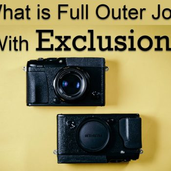 Join With Exclusion