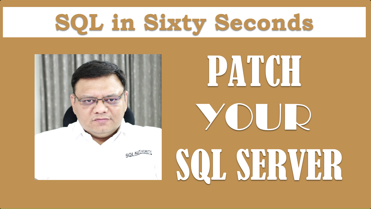patch your SQL