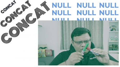 CONCAT and NULL - SQL in Sixty Seconds #123 122-ThreadStatus-cover-ytfinal-500x281