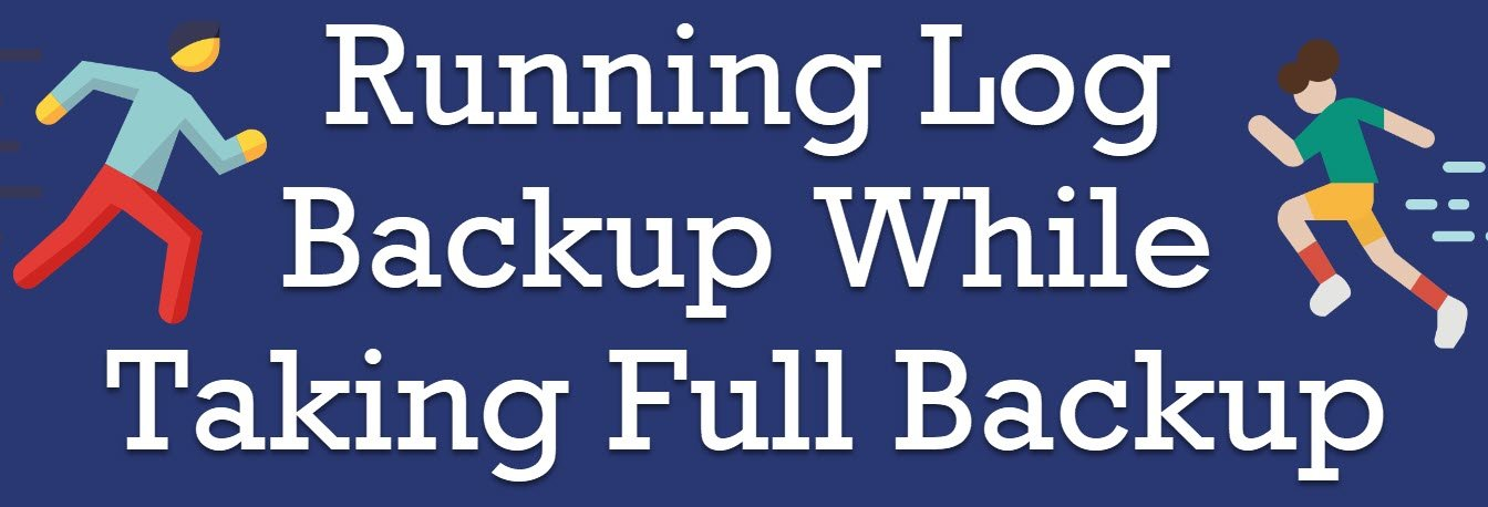 running log backup