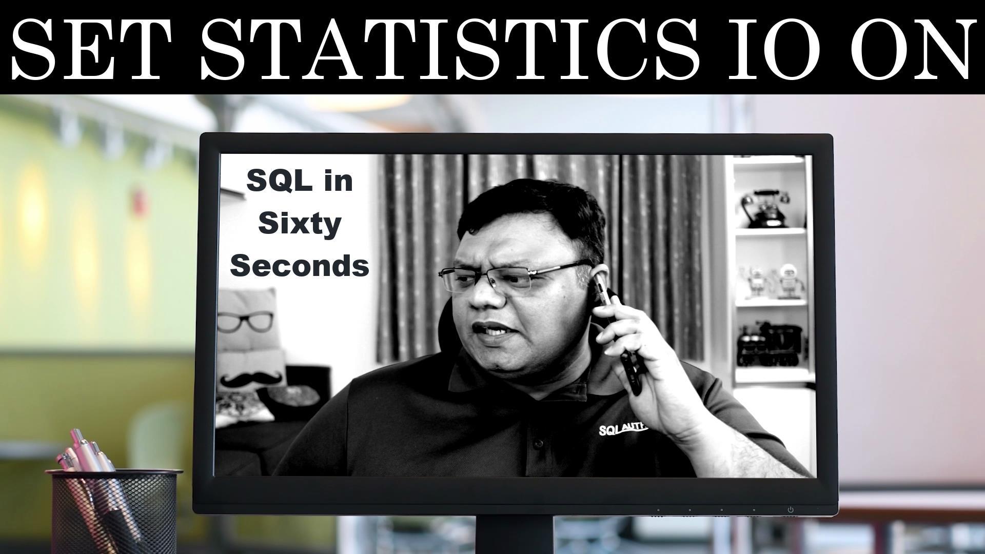 statistics IO