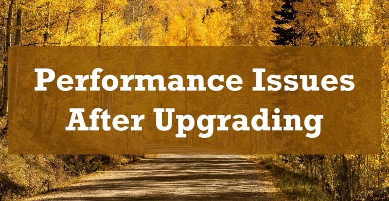 SQL SERVER 2019 - Performance Issues After Upgrading from SQL Server 2012 AfterUpgrading-800x413
