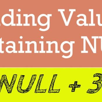 adding values