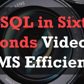 SSMS Efficiency