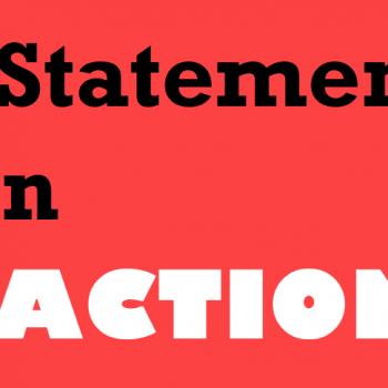 create statement