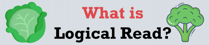 SQL SERVER - What is Logical Read? logicalread-800x172
