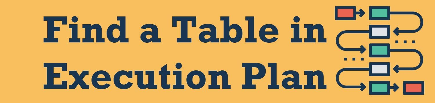 find a table