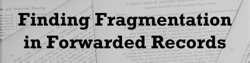 SQL SERVER - Finding Fragmentation in Forwarded Records Finding-Fragmentation-800x203