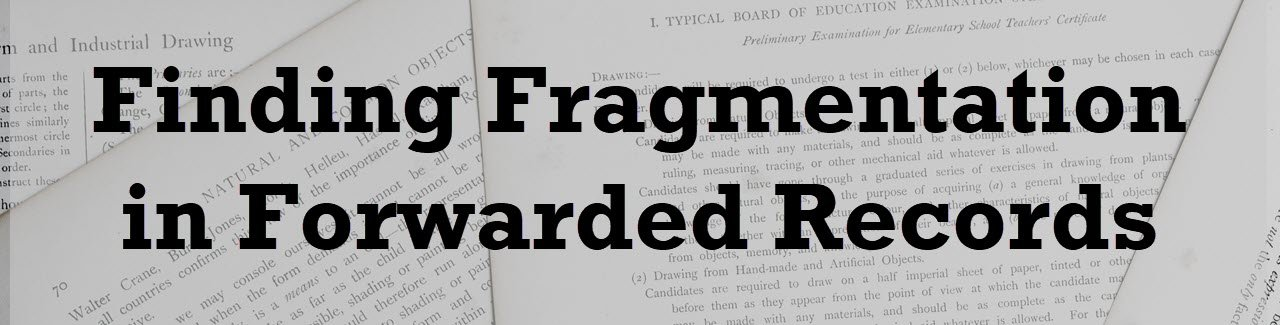 Finding Fragmentation