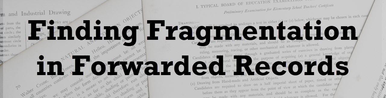 SQL SERVER – Finding Fragmentation in Forwarded Records