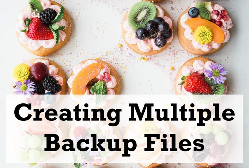 SQL SERVER - Creating Multiple Backup Files - Stripped backupfiles-800x541