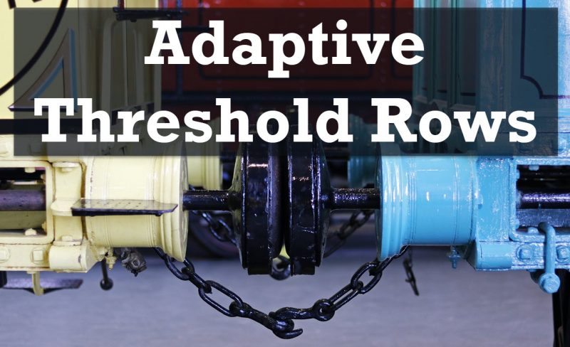 SQL SERVER - Adaptive Threshold Rows AdaptiveThresholdRows-800x488
