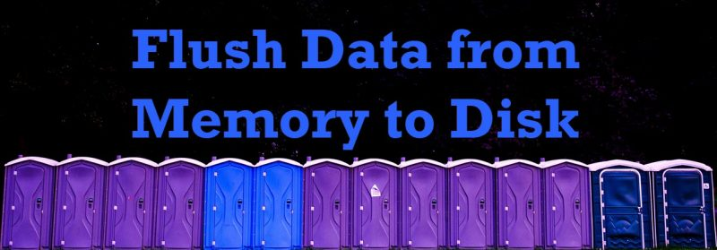 SQL SERVER - Flush Data from Memory to Disk FlushSQL-1-800x279
