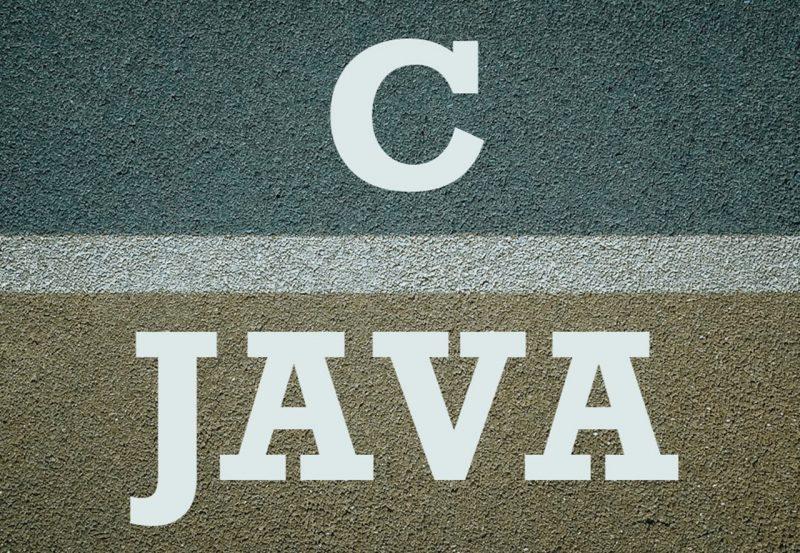 Java and C at Pluralsight candjava-800x553