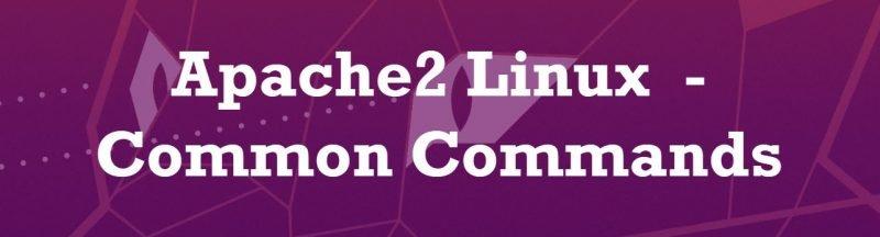 Apache2 Linux  - Common Commands apache2linux-800x216