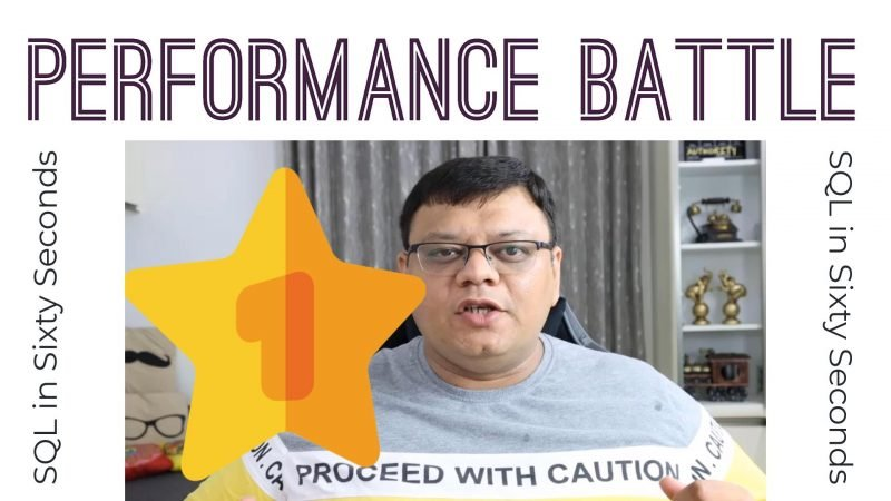 COUNT(*) and COUNT(1): Performance Battle - SQL in Sixty Seconds #176 176-Countmatch-yt-800x450