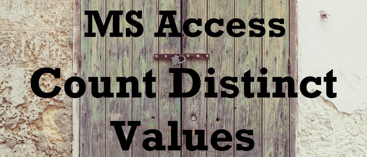 Count Distinct Values