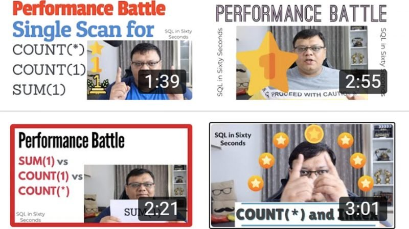 Feedback Request - COUNT and SUM Videos 4videos-800x449