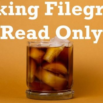 filegroup read