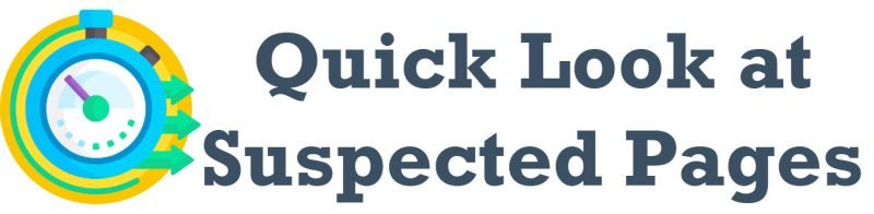 SQL SERVER - Quick Look at Suspected Pages suspectedpages-800x196
