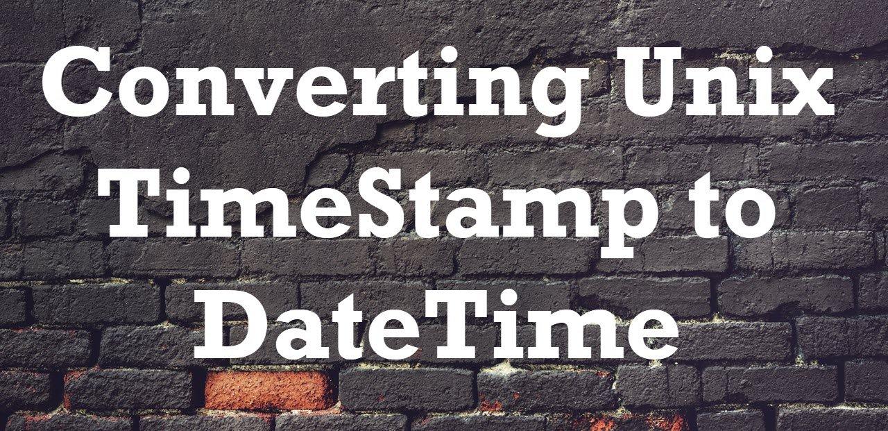 Unix TimeStamp